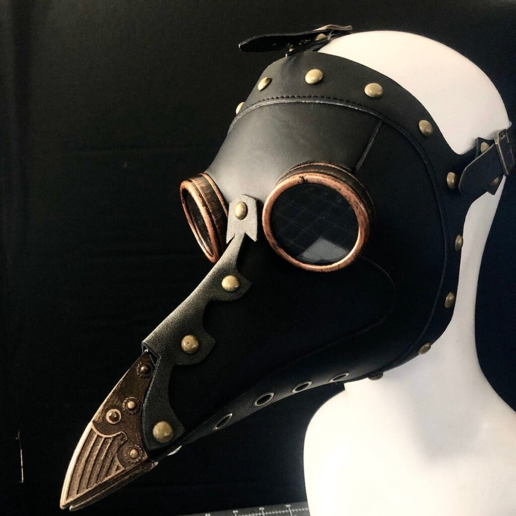 steampunk plague doctor Mask Etsy