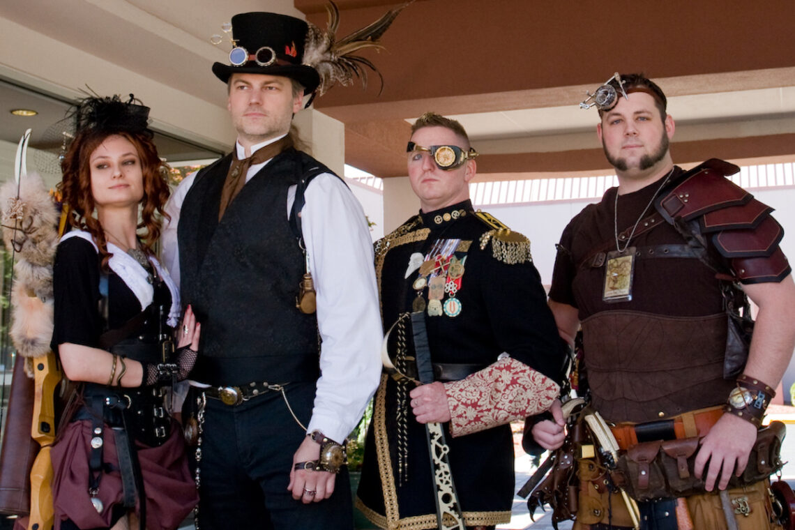 steampunk festivals worlds fair