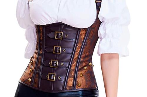 steampunk underbust corsets